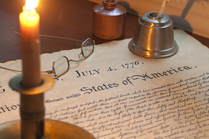 Declaration of Independence for Couples
