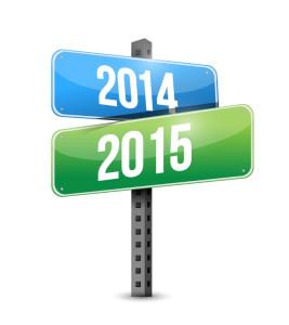 2014 2015 road sign illustration design